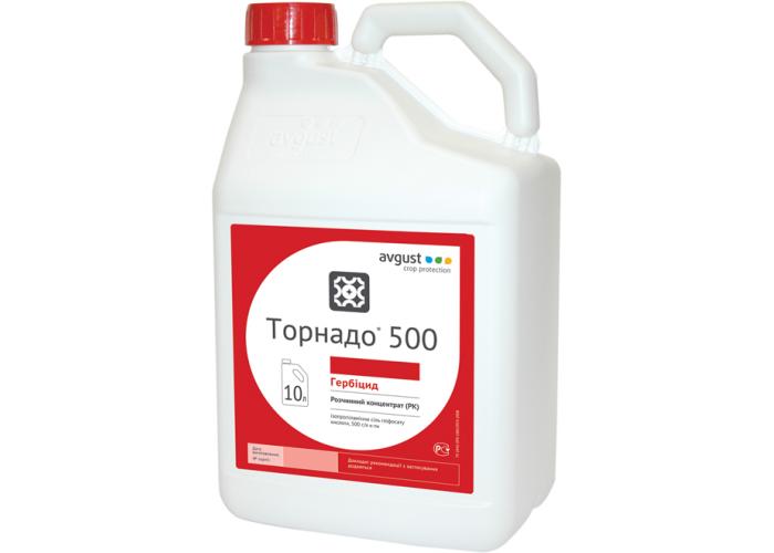 Гербіцид Торнадо® 500, р.к (аналог Раундап) - 10 л | Avgust