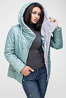 Куртка женская демисезонная Kattaleya KTL-136 темная мята (#598)