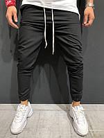 Мужские брюки - джоггеры черные