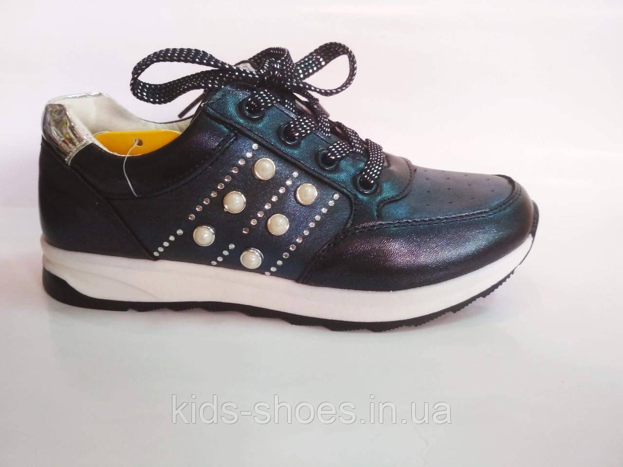Підліткові туфлі-кросівки для дівчинки Clibee 32-20, 35-21.5