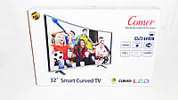 "LCD LED Телевизор Comer 32"" Изогнутый Smart TV, WiFi+T2, HDMI, Android 4.4, фото 7"