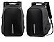 Рюкзак міський протикрадій в стилі Bobby Боббі з USB-виходом, фото 8