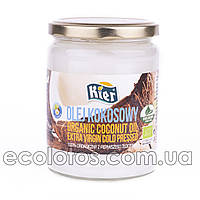 """Кокосовое масло холодного отжима """"Kier"""" 500 мл, Шри-Ланка"""