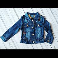 Джинсовая куртка пиджак 4-14 лет для девочки Польша, фото 1