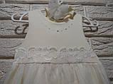 Платье+повязка ТМ Happy ToT размеры 62, 68, 74 и 80, фото 2