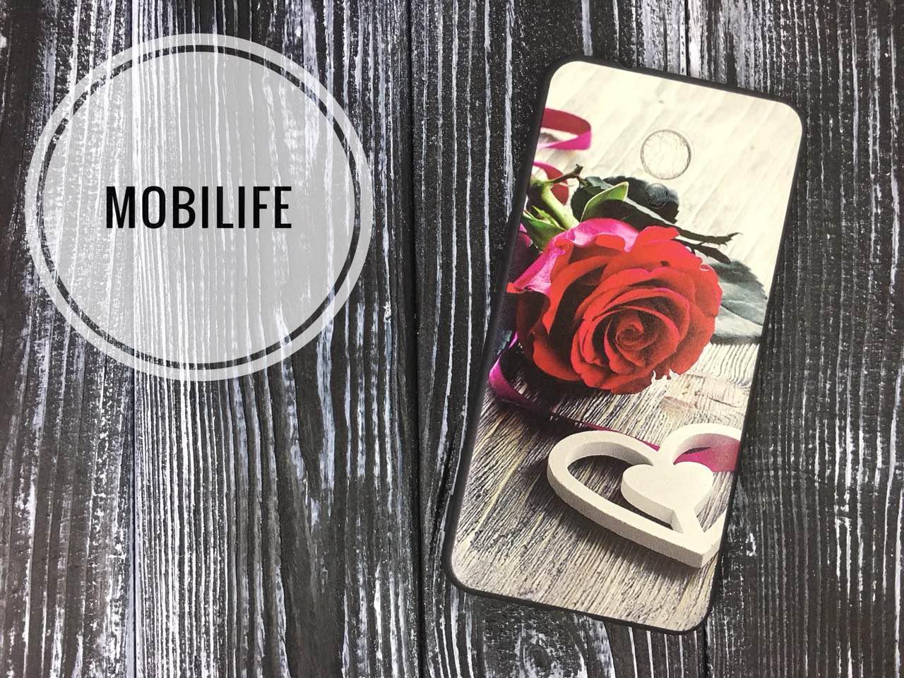 Чехол силиконовый Meizu M5c Цветок