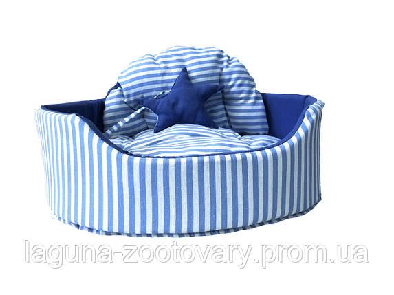 Лежак 47х35х15см для собак и котов ZOOM ZOOM ZOO, BOLERO BOY №1, фото 2