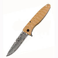 Нож складной Ganzo G620, клинок с травлением, фото 1