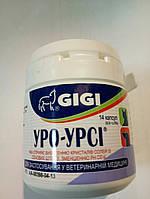 """GIGI""""Уро-Урси"""" 14 капсул 1капс/10 кг профилактика и лечение мочекаменной болезни у собак и кошек  430301"""
