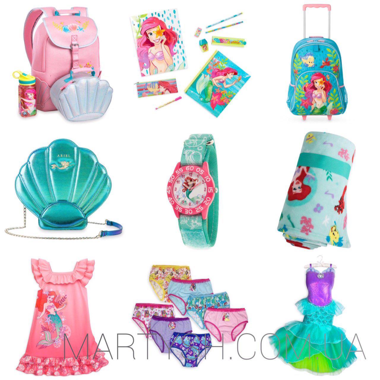 Набор Дисней: русалочка Ариель коллекция под заказ / Disney Ariel Mermaid