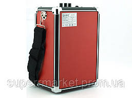 Колонка-чемодан с караоке Kipo KB-Q2 20W, фото 3