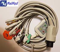 ЭКГ кабель на 5 отведений к монитору пациента ЮМ-300, Ютас
