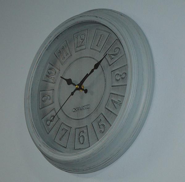 """Настенные часы """"Old city"""" (blue 35 см.)"""