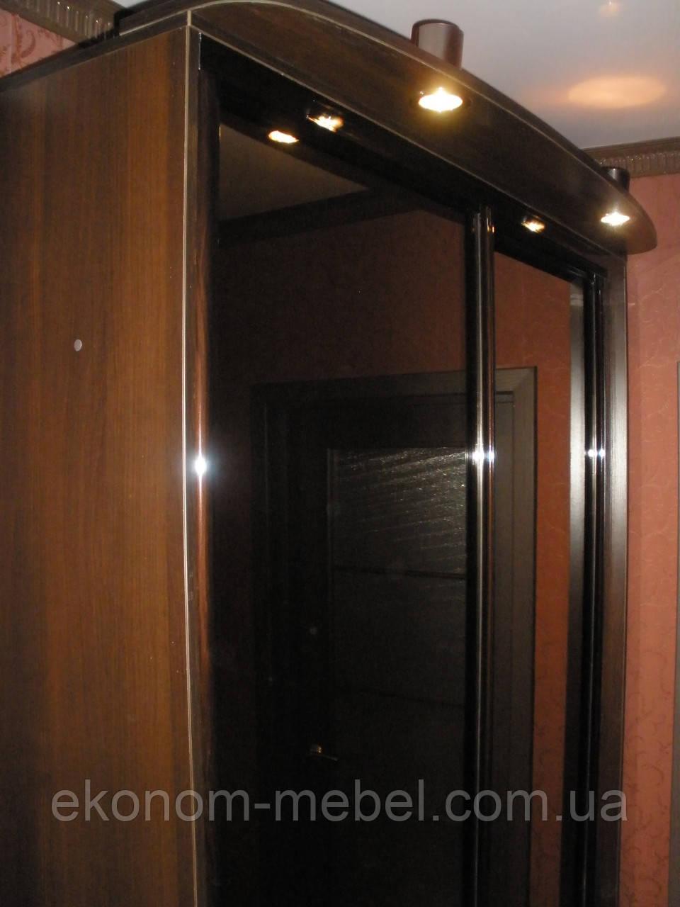 Шкаф купе готовый 2х-дверный ширина 1400мм, глубина 450мм, высота 2100мм. Одесса