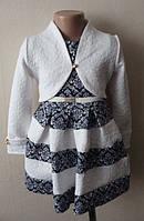 Платье детское нарядное с болеро