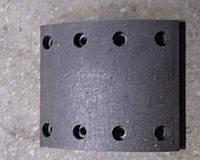 Накладка колодки тормозной передней (8 отверстий) Foton AC3251/2, Howo, Howo A7