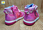 Тёплые демисезонные ботинки девочкам, р.22,24, фото 4