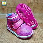 Тёплые демисезонные ботинки девочкам, р.22,24, фото 3