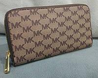 Кошелек женский брендовый Майкл Корс Michael Kors эко-кожа бежевый, фото 1