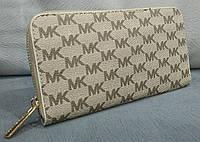 Кошелек женский брендовый Майкл Корс Michael Kors эко-кожа белый