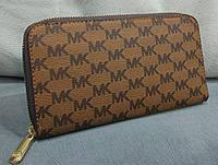 Кошелек женский брендовый Майкл Корс Michael Kors эко-кожа коричневый, фото 1