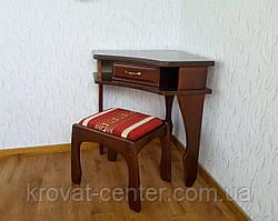 """Кутовий туалетний столик з пуфом """"Дарина"""", фото 2"""