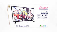 "LCD LED Телевизор Comer 40"" Smart TV+WiFi+T2, HDMI, Android 4.4, фото 8"