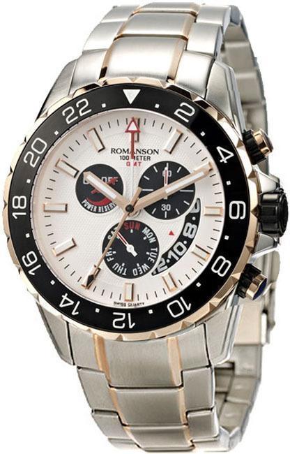 Часы Romanson AM0340BMR2T WH