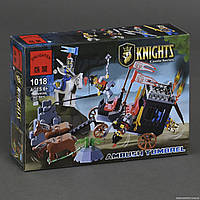 """BRICK 1018 (30) Рыцари """"Освобождение короля"""" 160 дет, в коробке"""