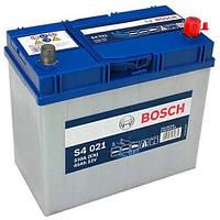 Автомобильный аккумулятор Bosch S4 Silver (S4 021): 45 Ач, 12 В, 330 А - (0092S40210), 238x129x227 мм
