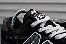 Кроссовки мужские черные New Balance 574 (реплика), фото 3