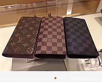 Кожаный кошелек- портмоне Louis Vuitton выбор цветов