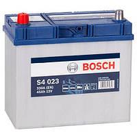 Автомобильный аккумулятор Bosch S4 Silver (S4 023): 45 Ач, 12 В, 330 А - (0092S40230), 238x129x227 мм