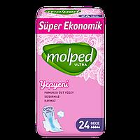 Гигиенические прокладки Molped Ultra Normal Super Eco 5 крапель 24 шт