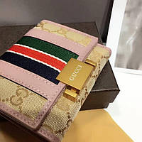 Кожаный женский кошелек Gucci Гуччи
