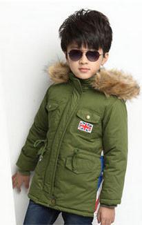 Парка детская демисезонная куртка для мальчика
