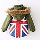 """Парка детская демисезонная куртка для мальчика """"Флаг"""", фото 3"""