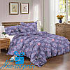 Полутороспальный сатиновый постельный комплект ФЛАМИНГО