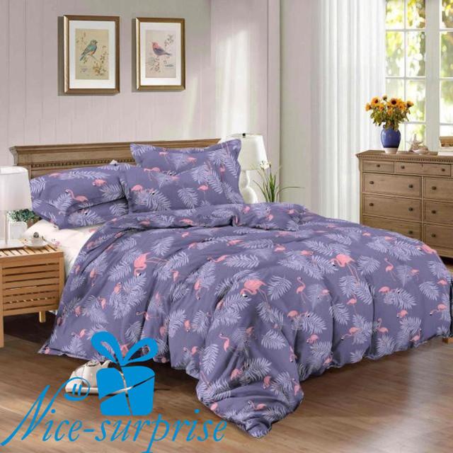 купить полутороспальный сатиновый постельный комплект в Харькове