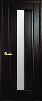 Дверное полотно Премьера Со стеклом сатин Венге new