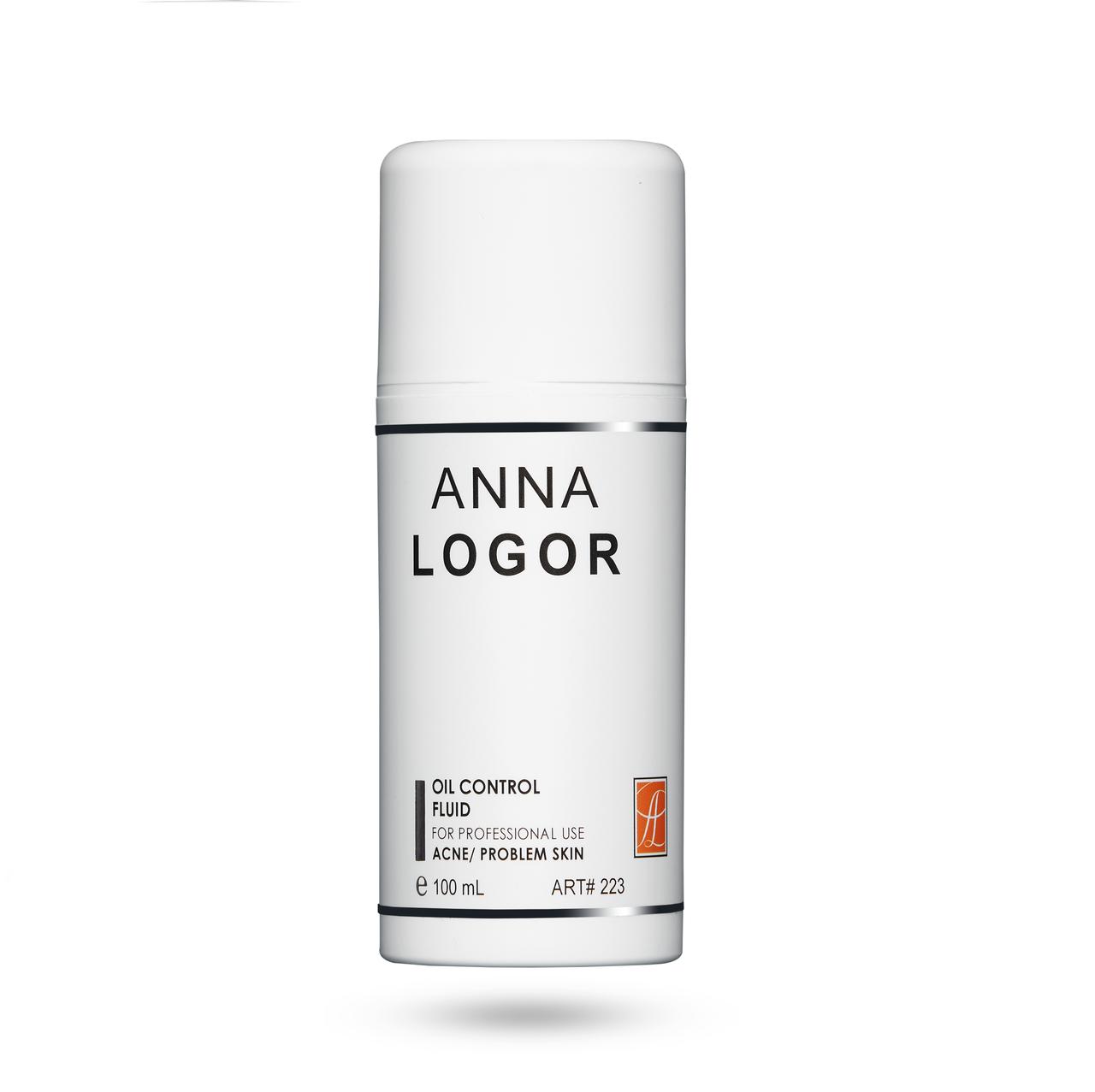 Эмульсія стабілізуюча для жирної шкіри Анна Логор / Anna Logor Oil Control Fluid 100 ml Art.223