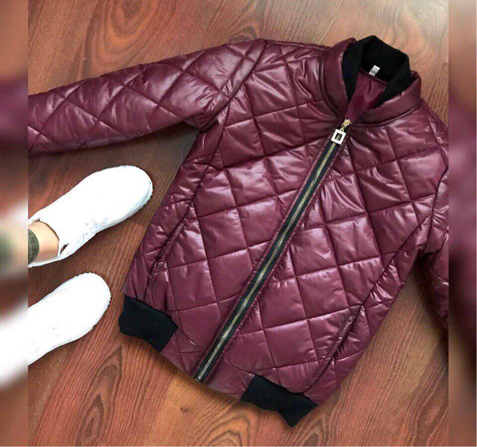 """Стильная женская куртка на осень """"Ромб"""""""