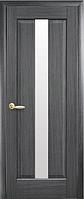 Дверное полотно Премьера Со стеклом сатин Серый (Grey)