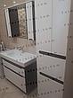 Пенал для ванной комнаты с корзиной для белья Симпл-Венге 60-11К (венге) ПИК, фото 5