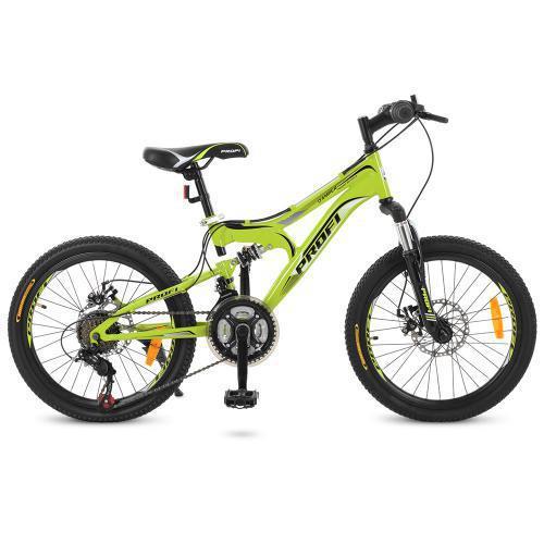 Велосипед спортивный детский 20 дюймов, сталь
