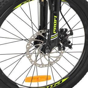 Велосипед спортивный детский 20 дюймов, сталь, фото 3