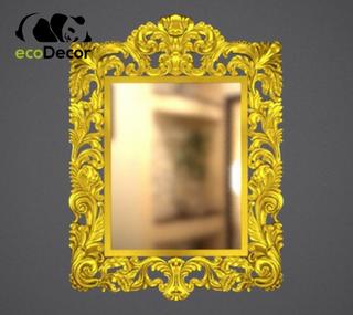 Зеркало настенное Florence в золотой раме