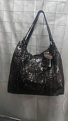 Модная Женская Сумка 8122 Кожа