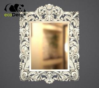 Зеркало настенное Florence в серебряной раме