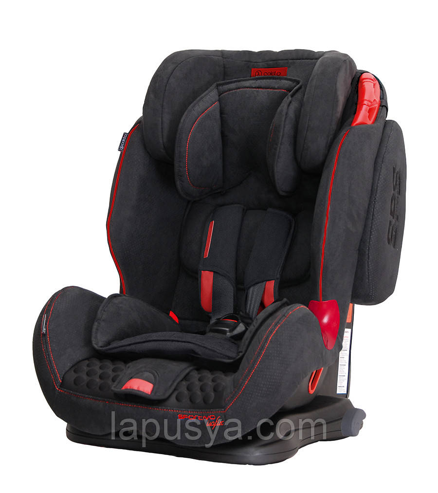 Автокрісло Coletto Spоrtivo Isofix Black New
